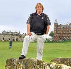 Jochen Taaks auf dem Old Course in St. Andrews