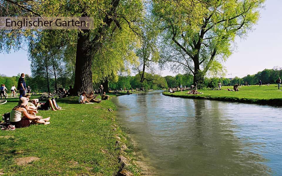 Englische Garten München Ufer