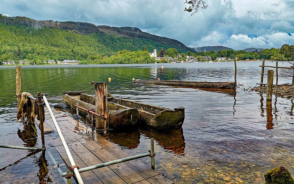Loch Tay bei Kenmore