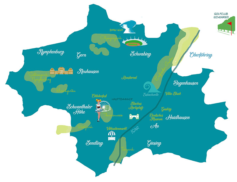 Karte München
