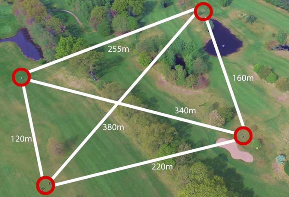 Auf der weitläufigen Golfanlage des Golf-Club Oberneuland fällt Abstand halten leicht. (Foto: GC Oberneuland)