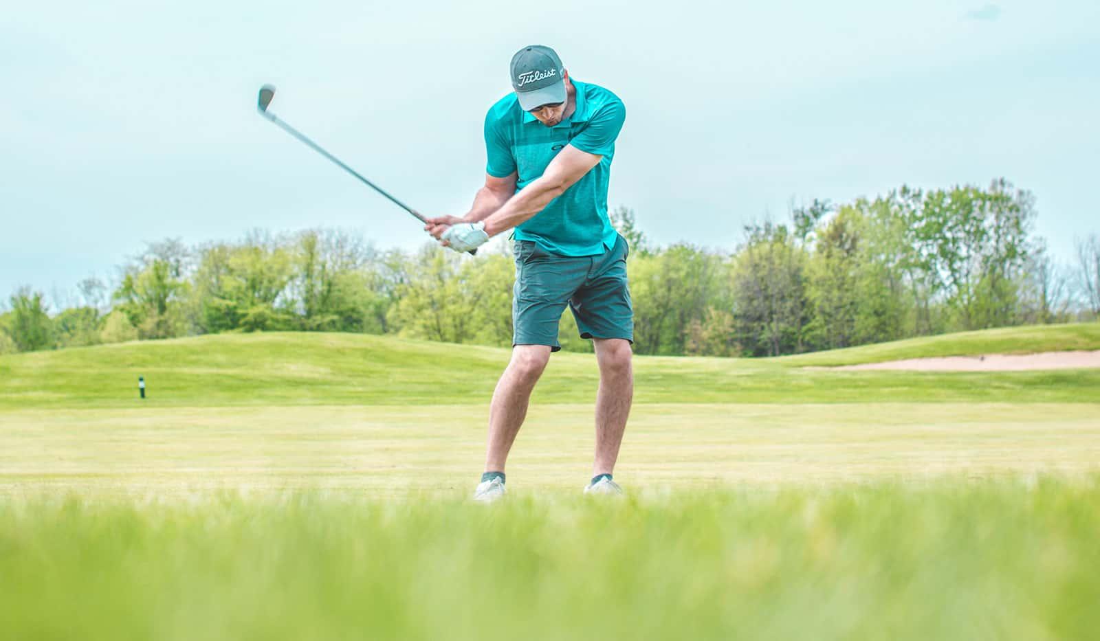 Golf Abschlag