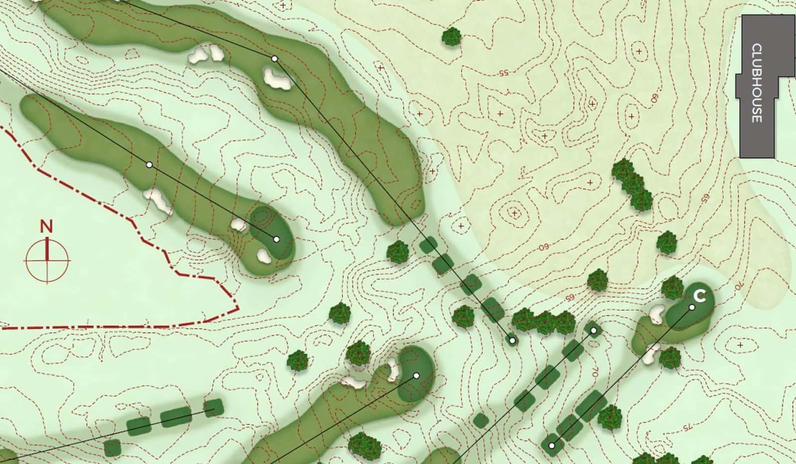 Golfplatzdesign