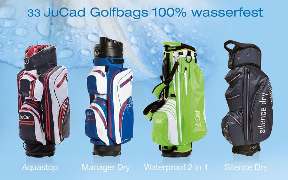 JuCad Golfbags wasserfest