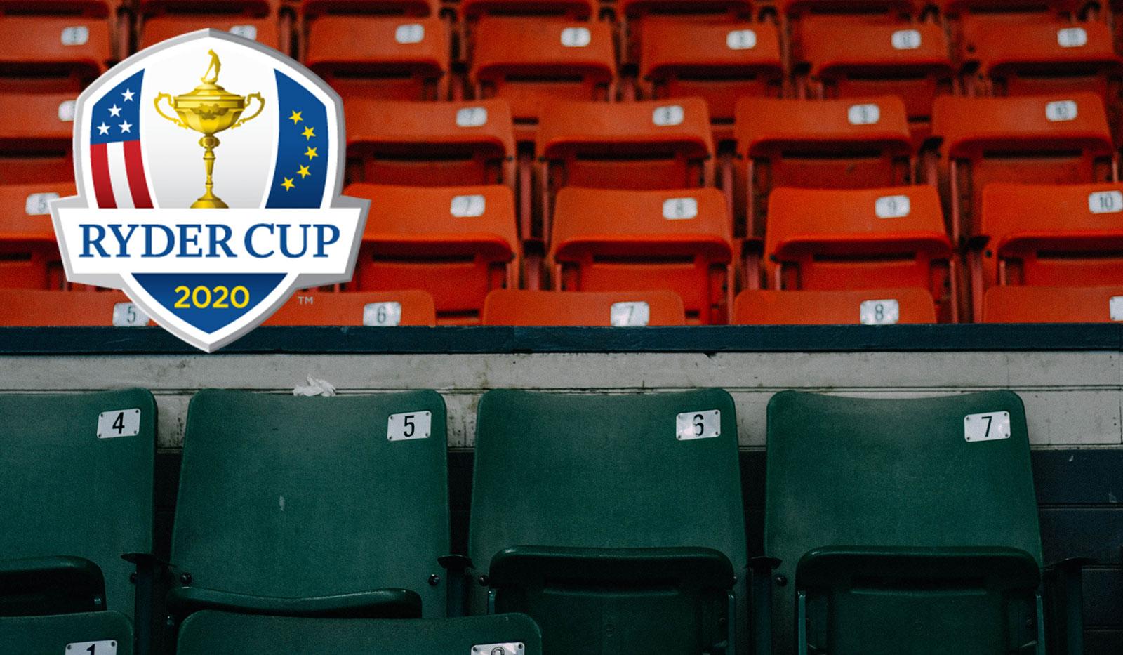 Leere Plätze, Ryder Cup Logo
