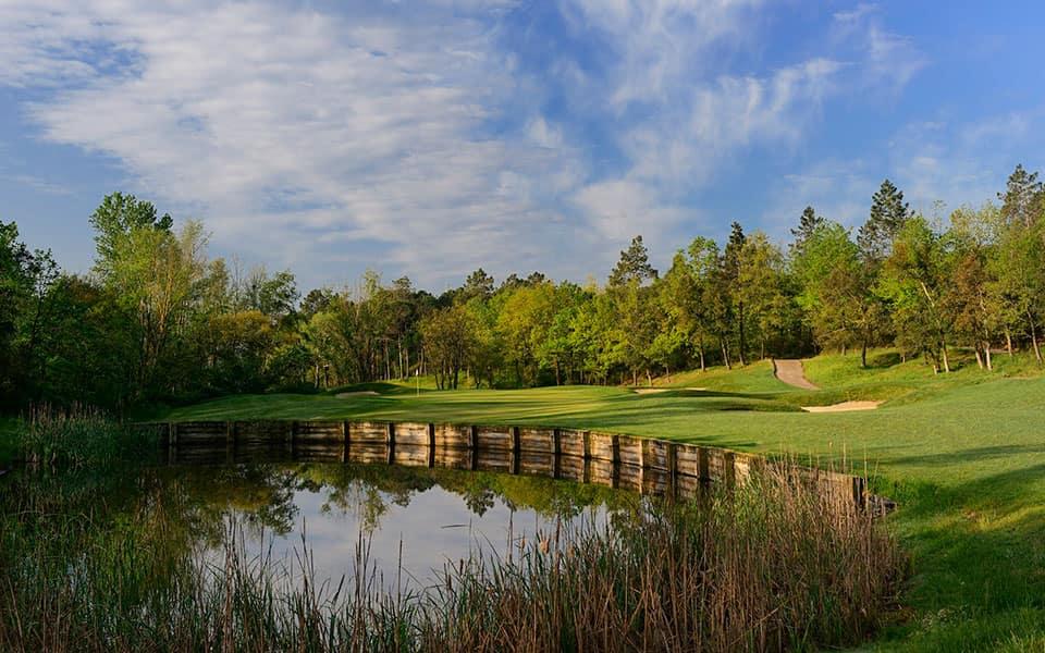 Stadium Course Hole 1, PGA Catalunya Resort