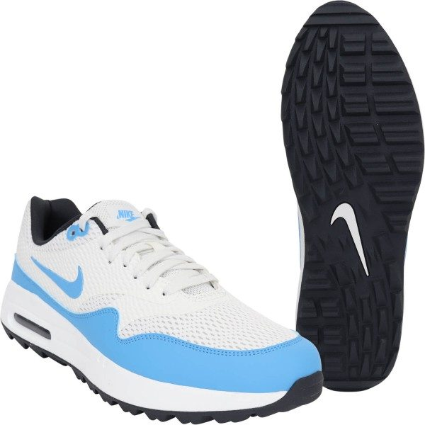 Nike Golf Golfschuhe Air Max 1G weißblau