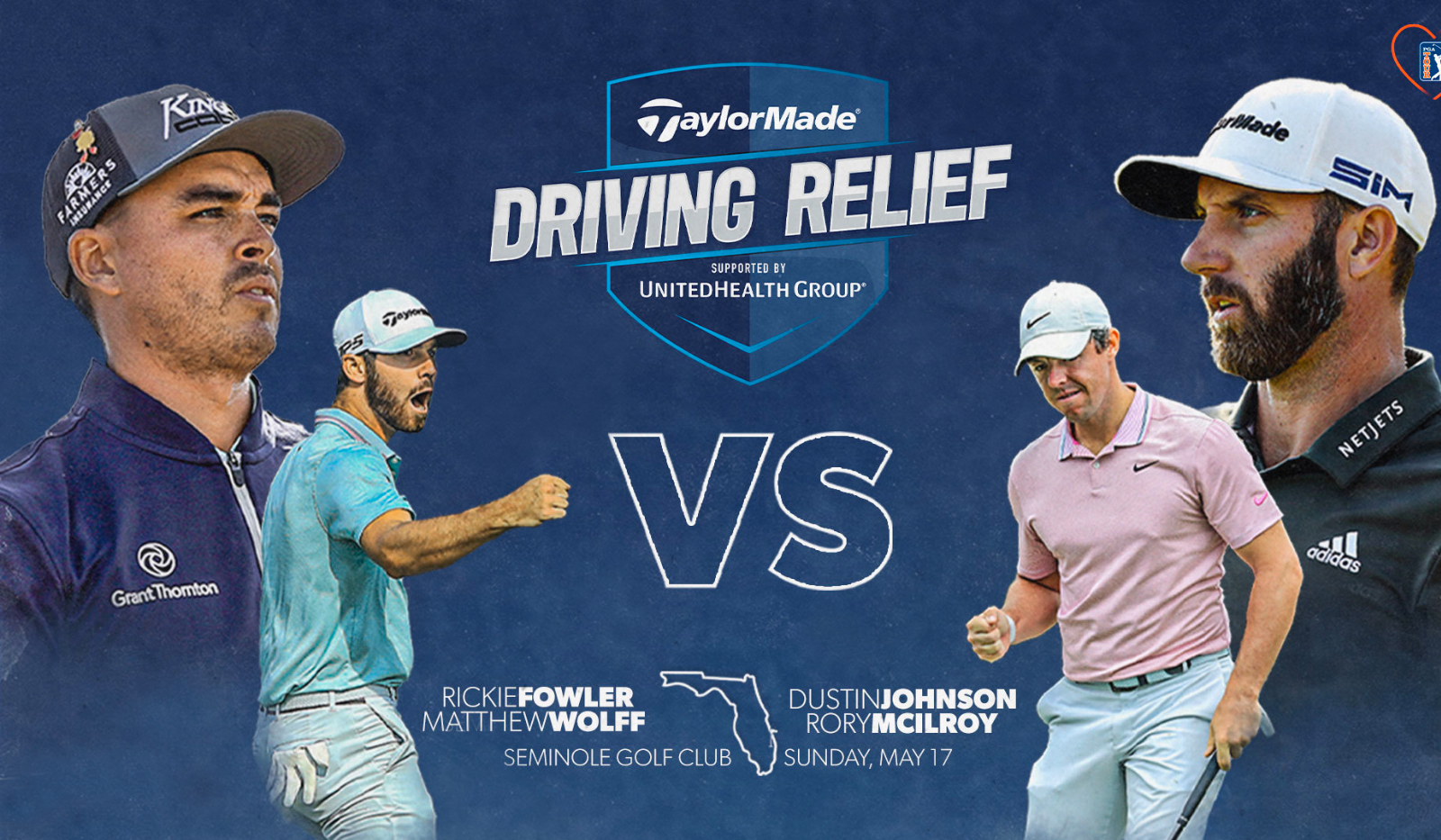 PGA TOUR TaylorMade Driving Relief May 17th