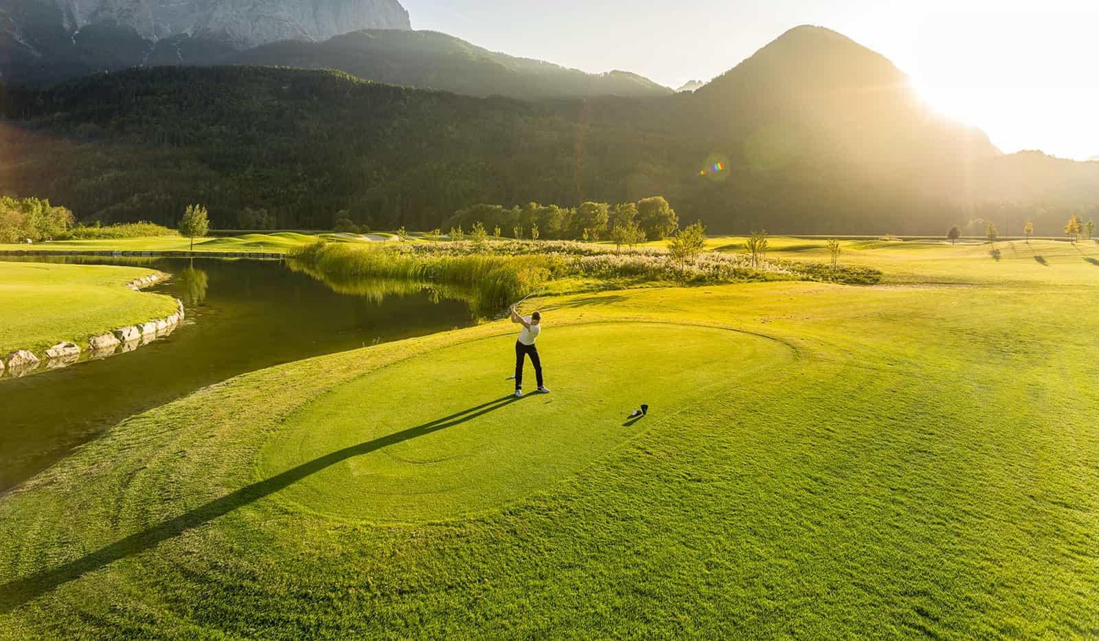 Golfplatz Dolomitengolf