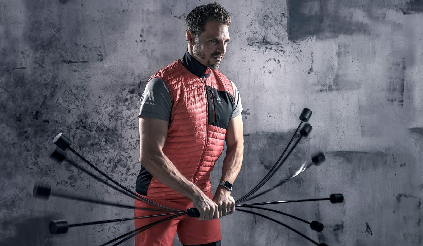 Andreas Iken, Übung mit Swingstick