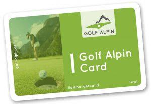 Golf Alpin Card