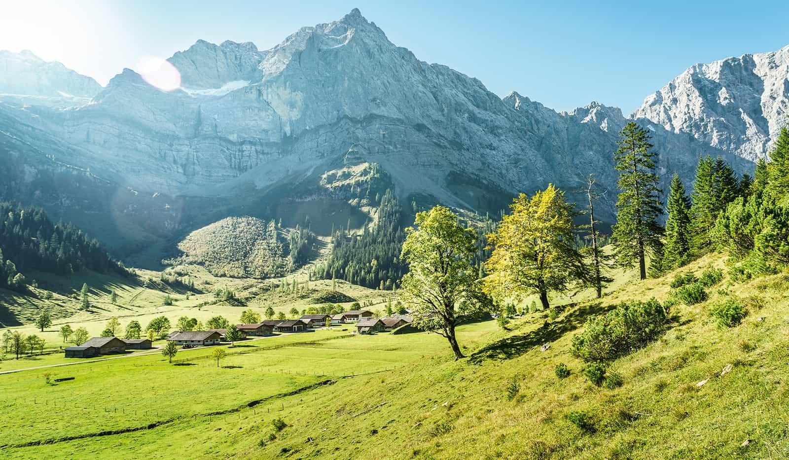 Österreich Berglandschaft