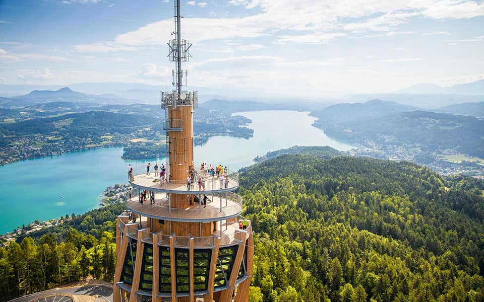 Pyramidenkogel - Golfurlaub in Kärnten
