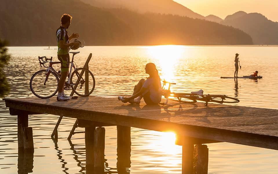 Radtour Salzburger Land See
