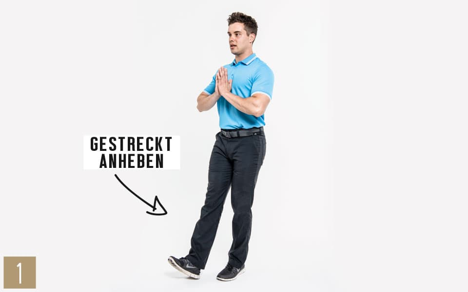 Unterkoerper Kniebeuge1 - Pilates Teil 4: Beine