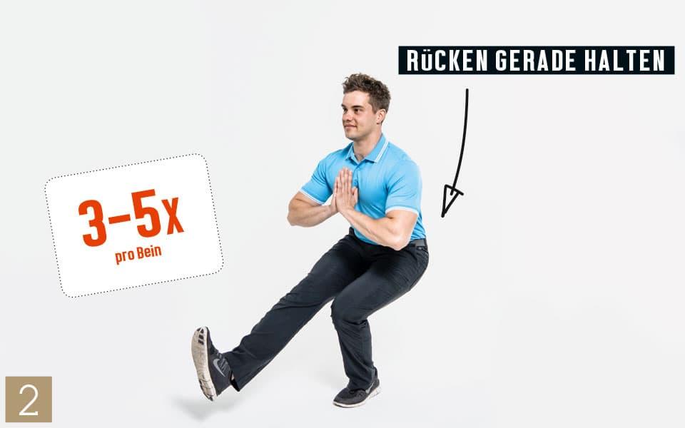 Unterkoerper Kniebeuge2 - Pilates Teil 4: Beine