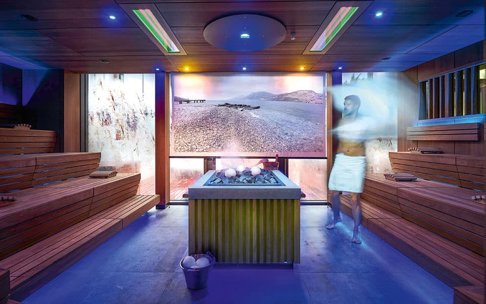 Eventsauna Quellenhof Resort