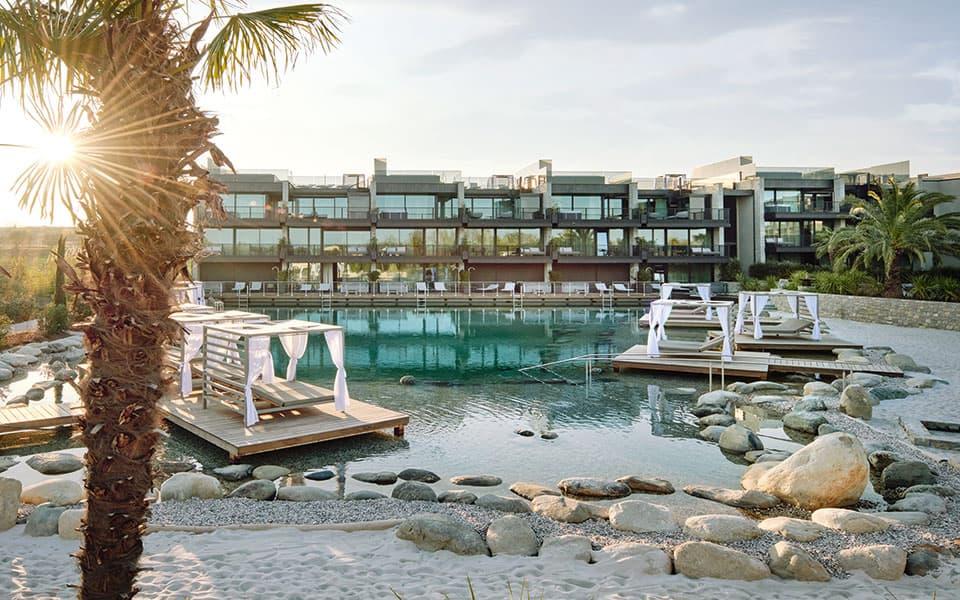 Naturbadeteich Quellenhof Resort