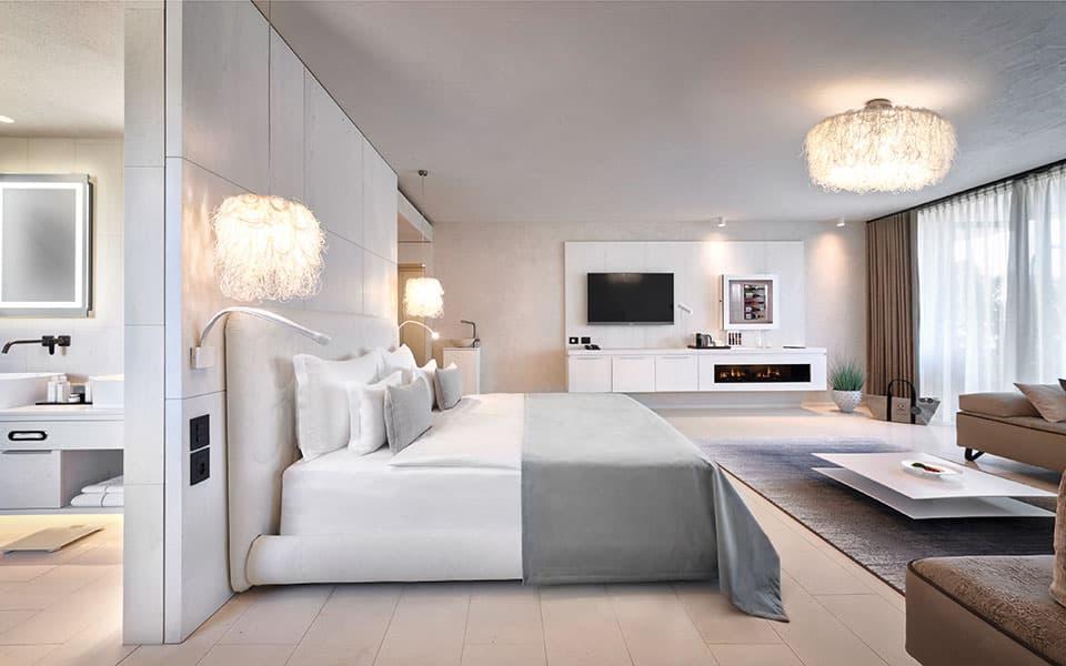 Suite-Bella-Bianca Quellenhof Luxury Resort