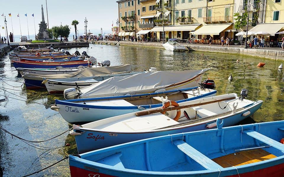 Lazise Hafen