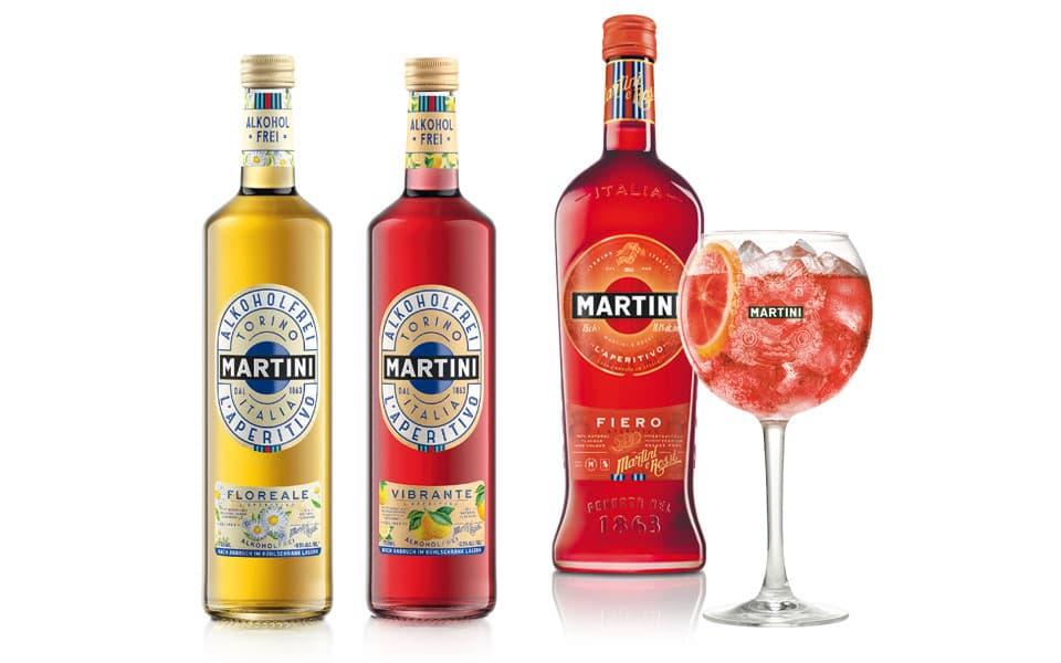 Martini Getränke Set