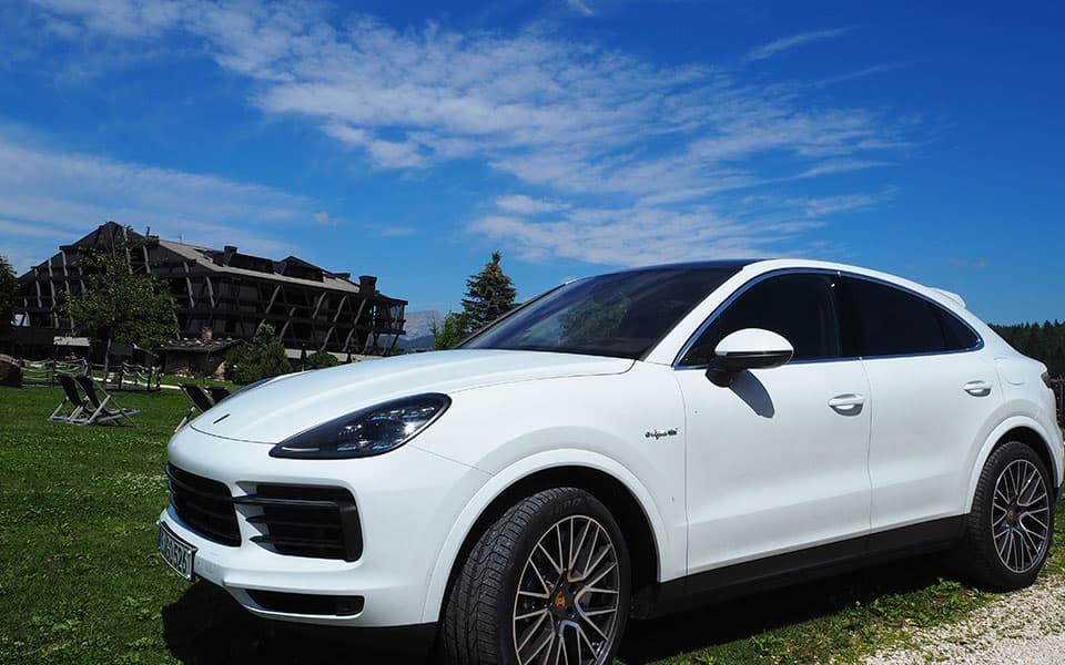 Pfoesl Porsche 01 - Golfurlaub in Südtirol 2020