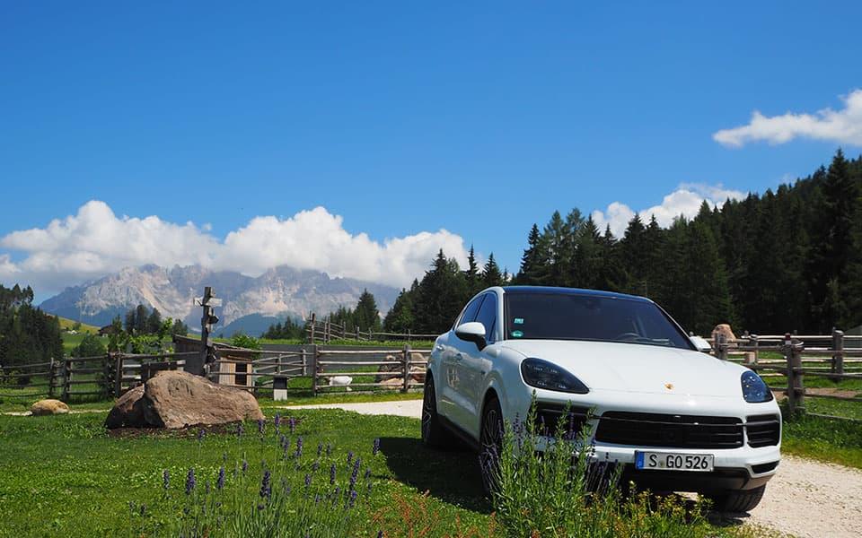 Pfoesl Porsche 02 - Golfurlaub in Südtirol 2020