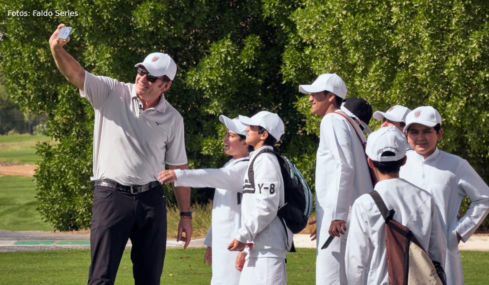 Faldo Series Sir Nick Faldo young golfers