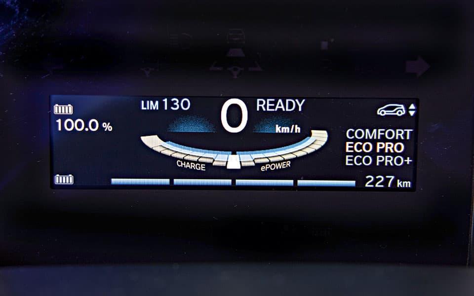 BMW i3 Display