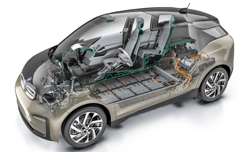 BMW i3 Technik