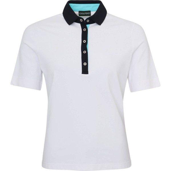 Golfino Poloshirt PT 2 kurzarm weiß