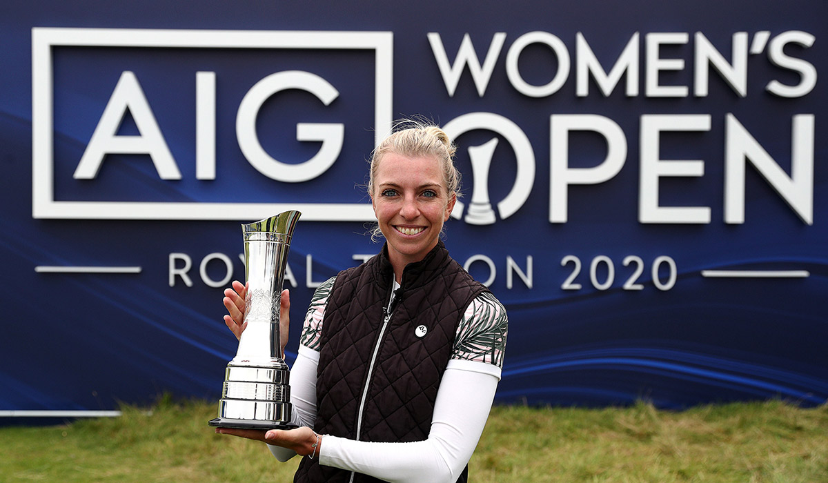 Women's British Open Sophia Popov Siegerin