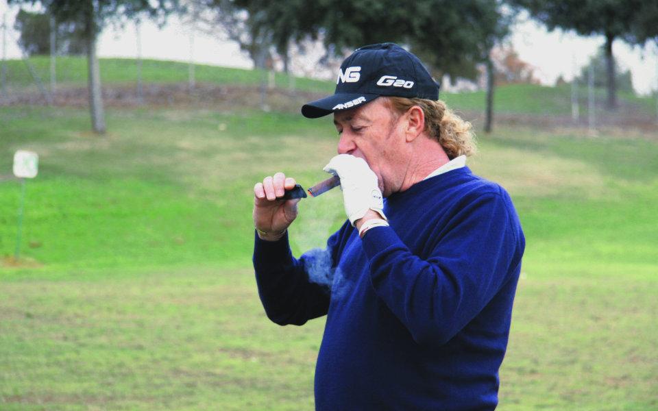 Javi Arquimbau Eden Comunicación - Miguel Ángel Jiménez – der Genuss-Golfer