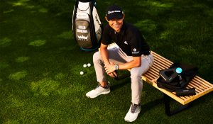 PGA Championship Collin Morikawa Therabody