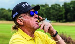 Miguel Angel Jimenez Genuss-Golfer