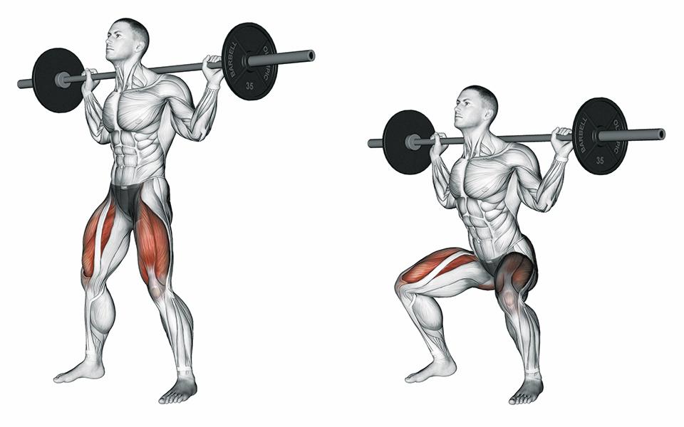 train like a pro brooks koepka squats