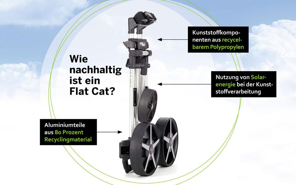 Flat cat nachhaltig komponenten