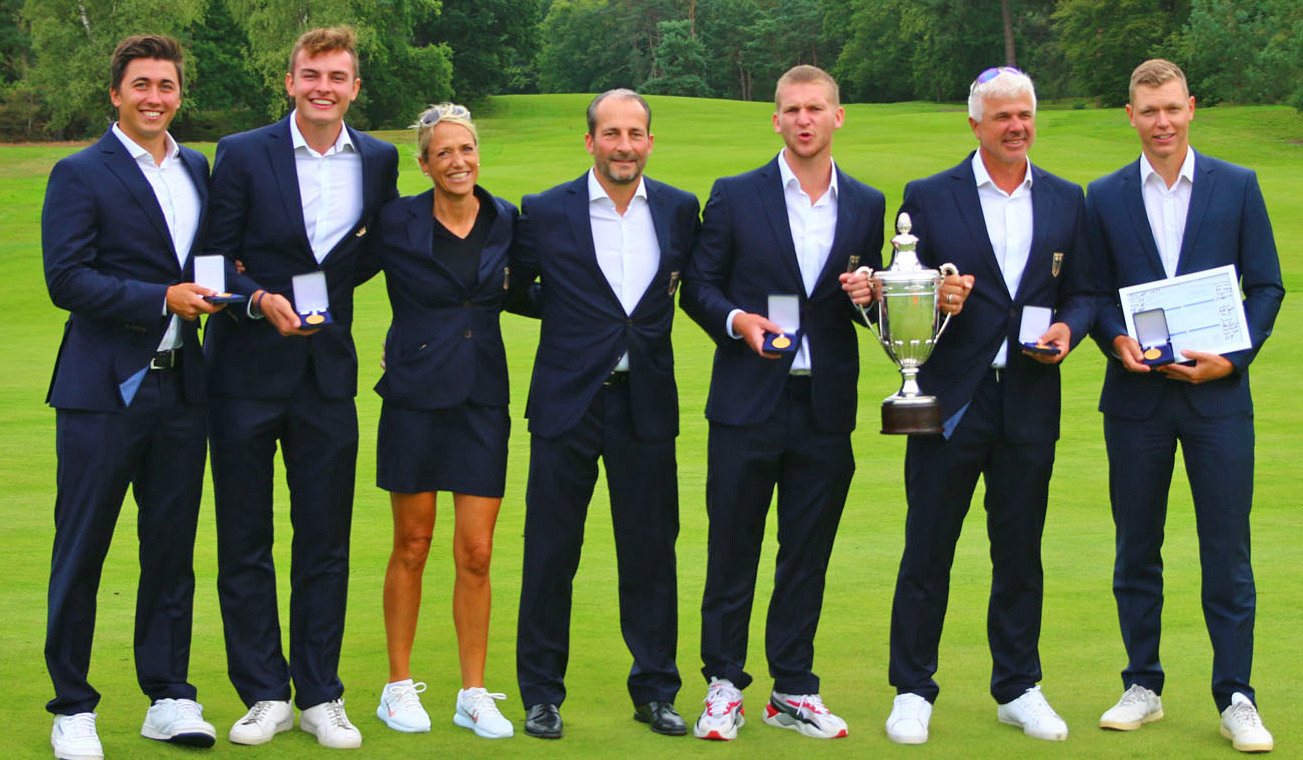 Europameister Golf Team Germany Herren