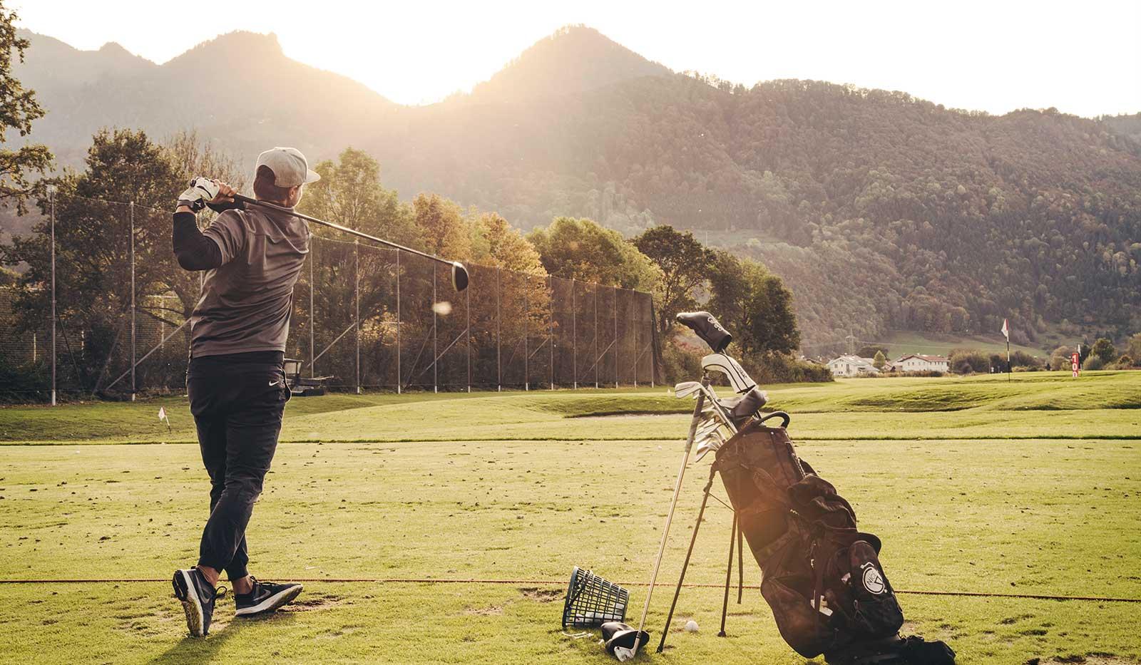 Golfabschlag Golf Resort Achental