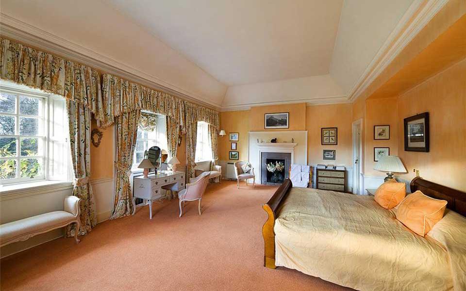Drumkilbo House Schlafzimmer
