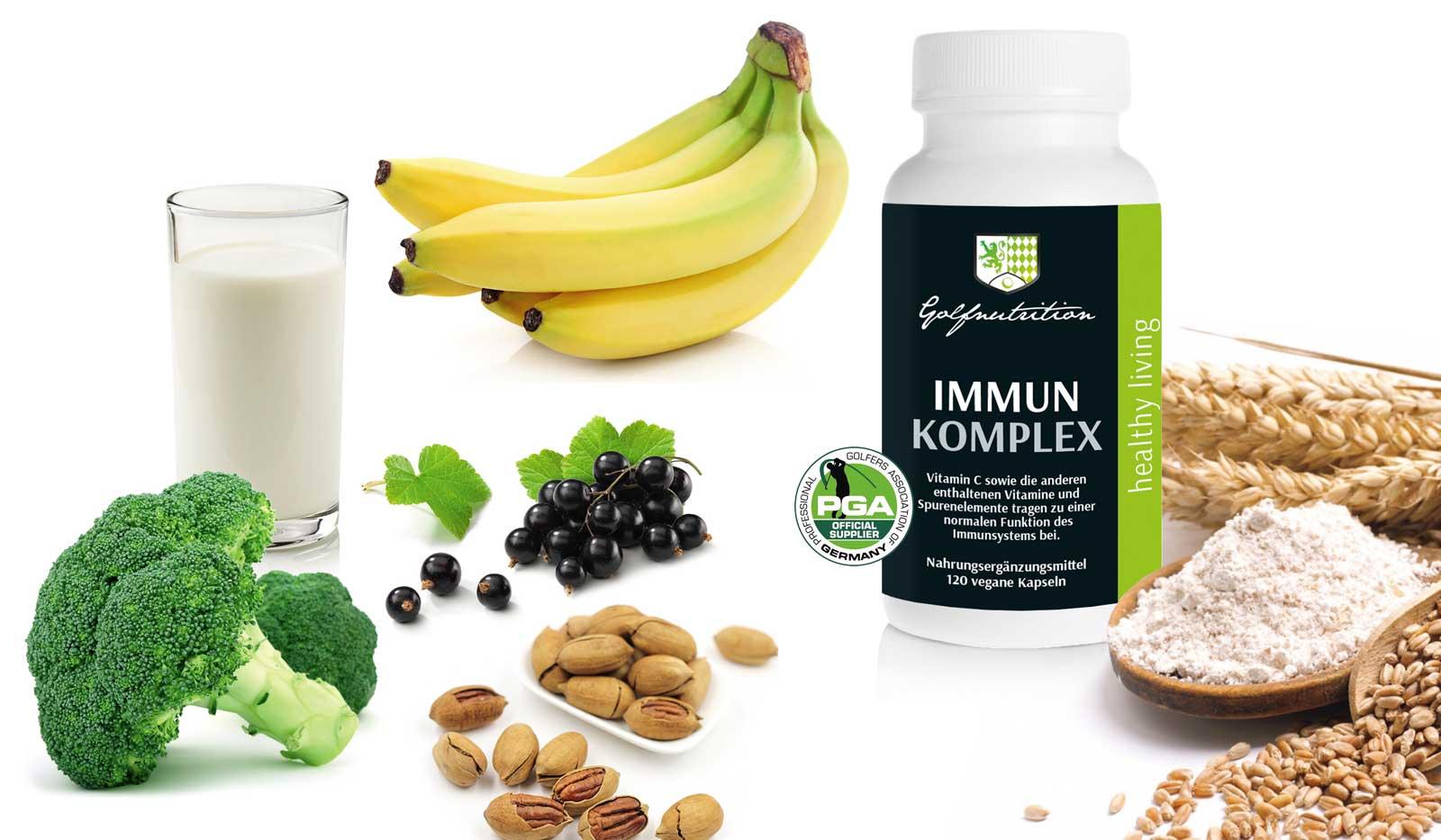 golfnutrition GS - Gewinnen Sie das Immun-Komplex von Golfnutrition®