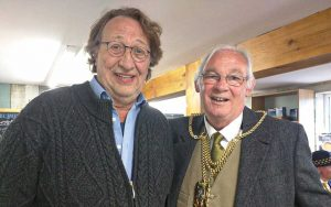 Jochen Taaks und Jim Leishman