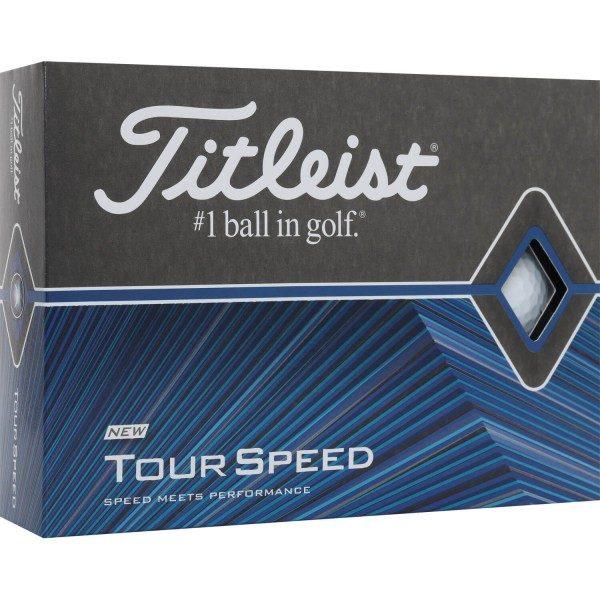 Titleist Tour Speed 2020 Golfbälle weiß