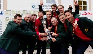 Freude pur beim Deutschen Mannschaftsmeister 2020 der Herren: dem Hamburger GC.