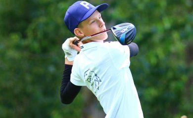 Ranglistensieger der Youth Challenge AK 14 Benedikt Schuster vom Mu?nchener GC.