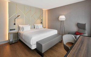NH Hotel München Zimmer
