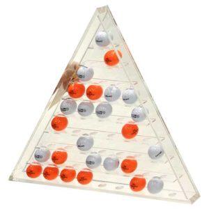 Silverline Ballregal Pyramide aus Acryl