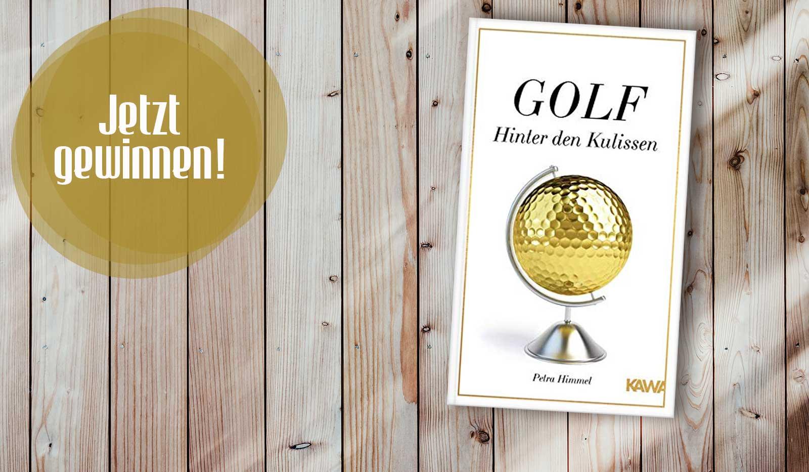 "Gewinnsiel Buch ""Golf – Hinter den Kulissen"""