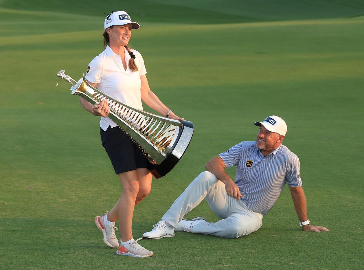 DP World Tour Championship  Dubai Round Four Lee Westwood  m54623 - Race to Dubai Finale