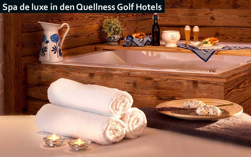SPA quellness - Quellness Golferlebnis